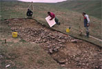 Crosedale shieling - 1995 excavation