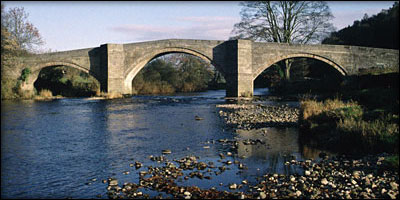 Old Stone Bridge Drawing an Old Stone Bridge Over a